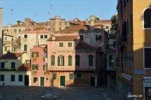 Вид с балкона хостела