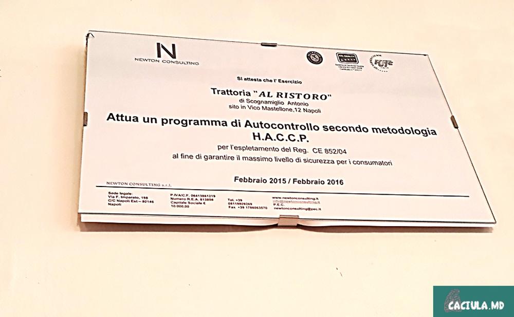 траттория Al Ristoro в Неаполе