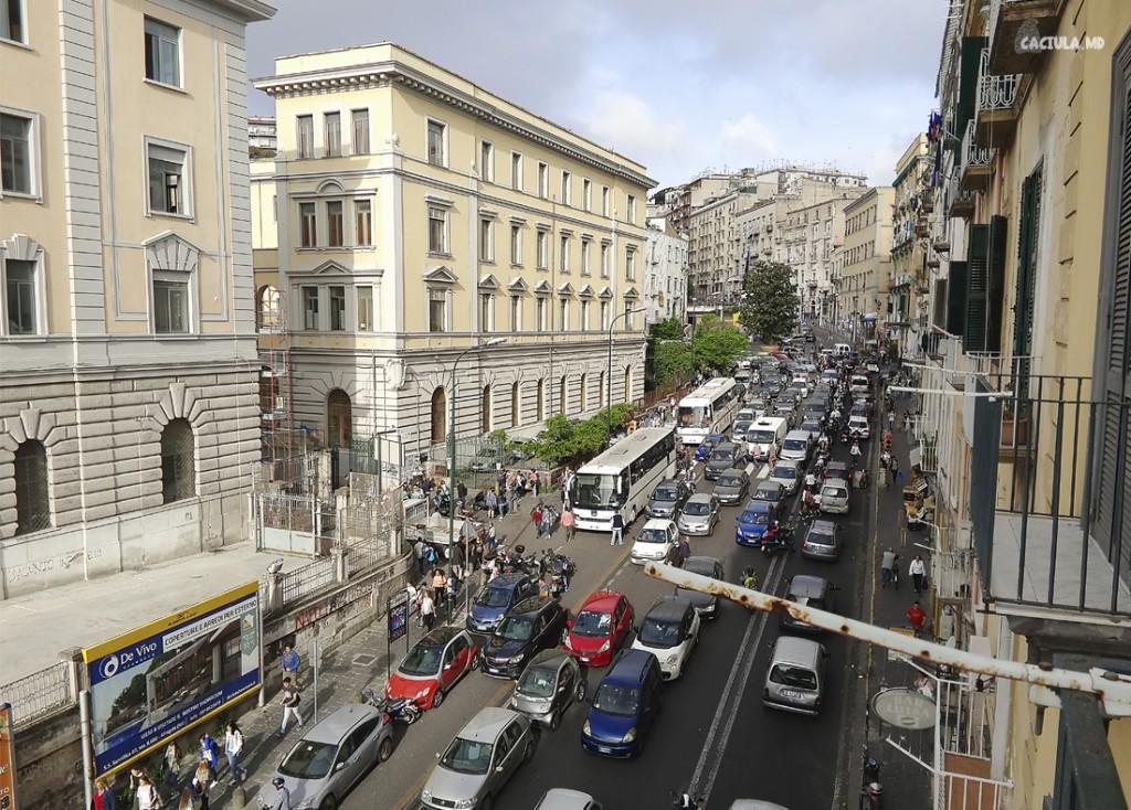 вид из хостела Неаполь