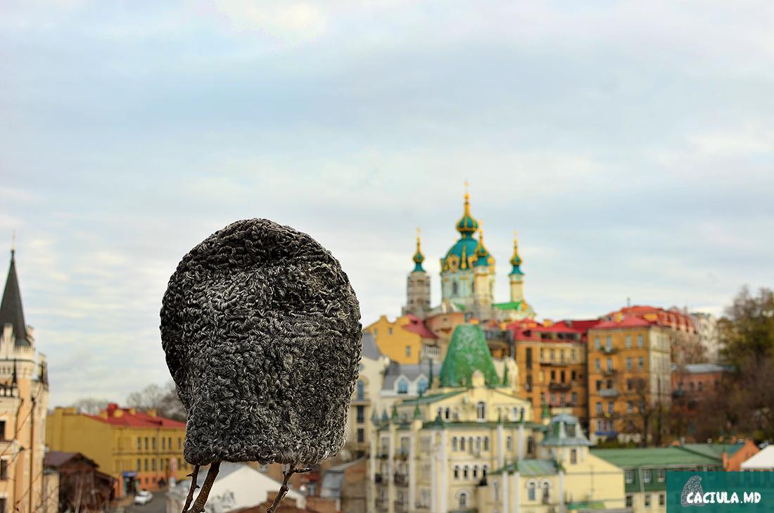 Caciula in Kiev