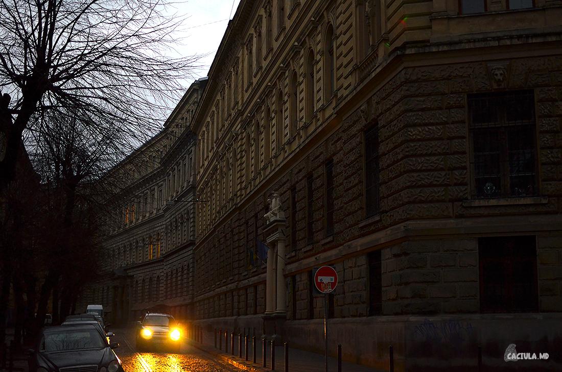 фонари машин во Львове