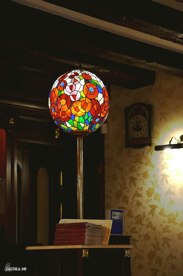 Великолепный шар в кондитерской