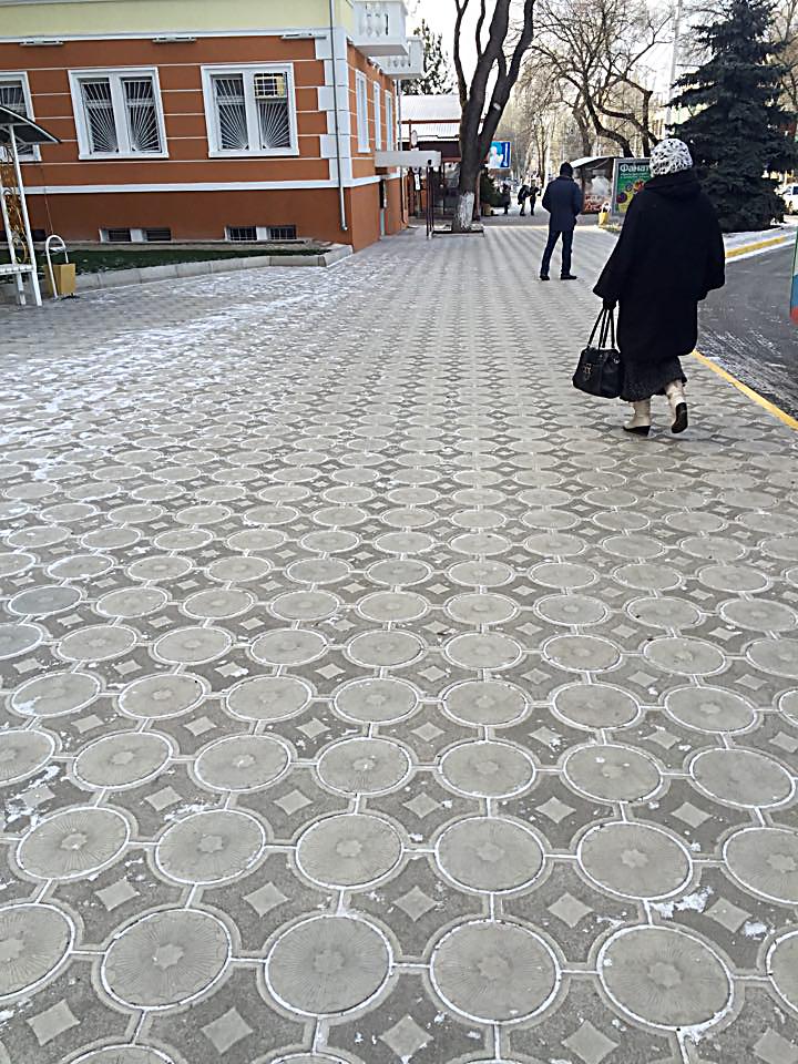 пешеходная часть в Тирасполе
