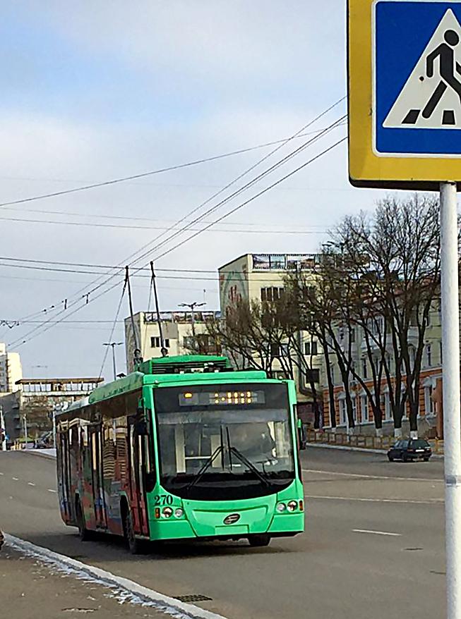 Троллейбус с wifi в Тирасполе