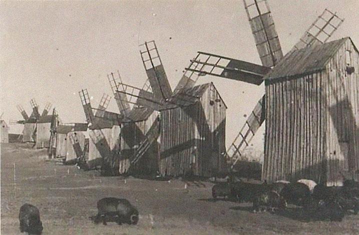 мельницы в ниспоренах