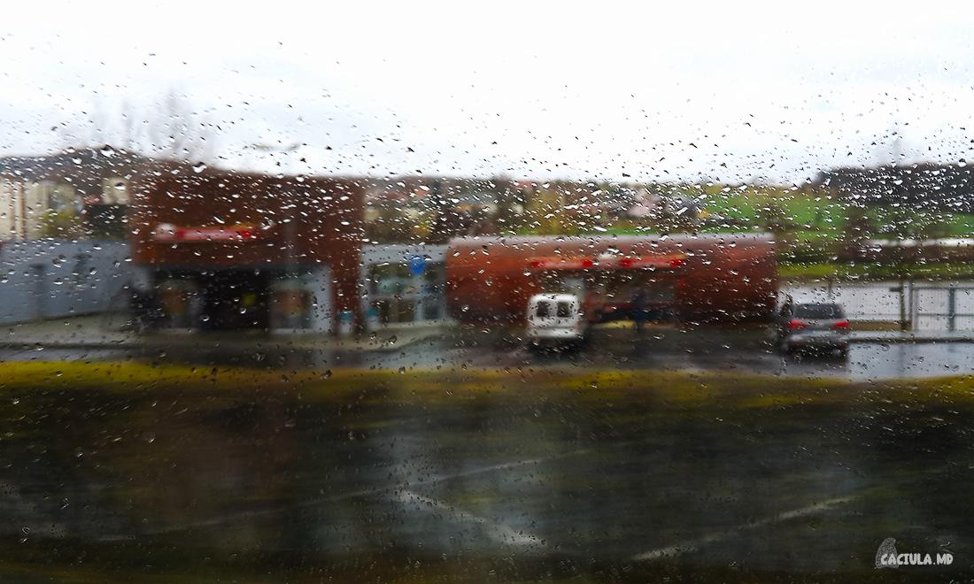 завод krusovice из окна автобуса
