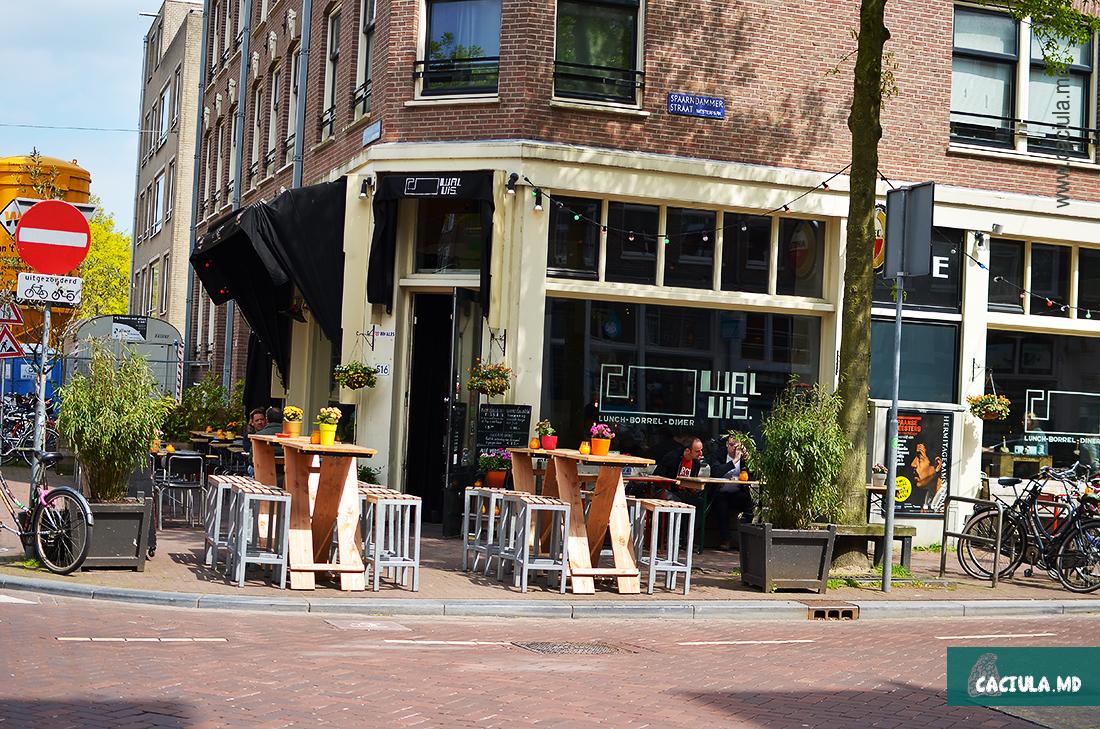 кафе в районе Spaarndammer en Zeeheldenbuurt