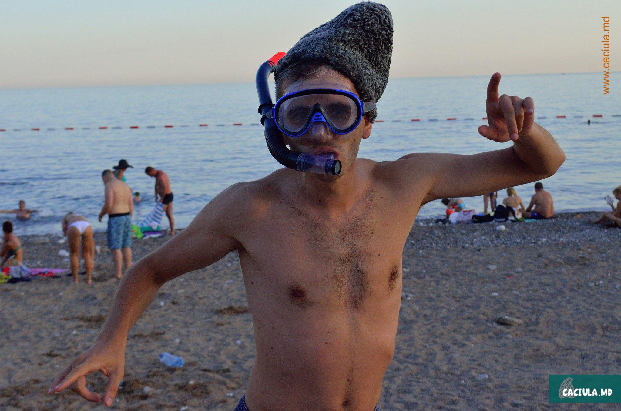 caciula на пляжах Черногории