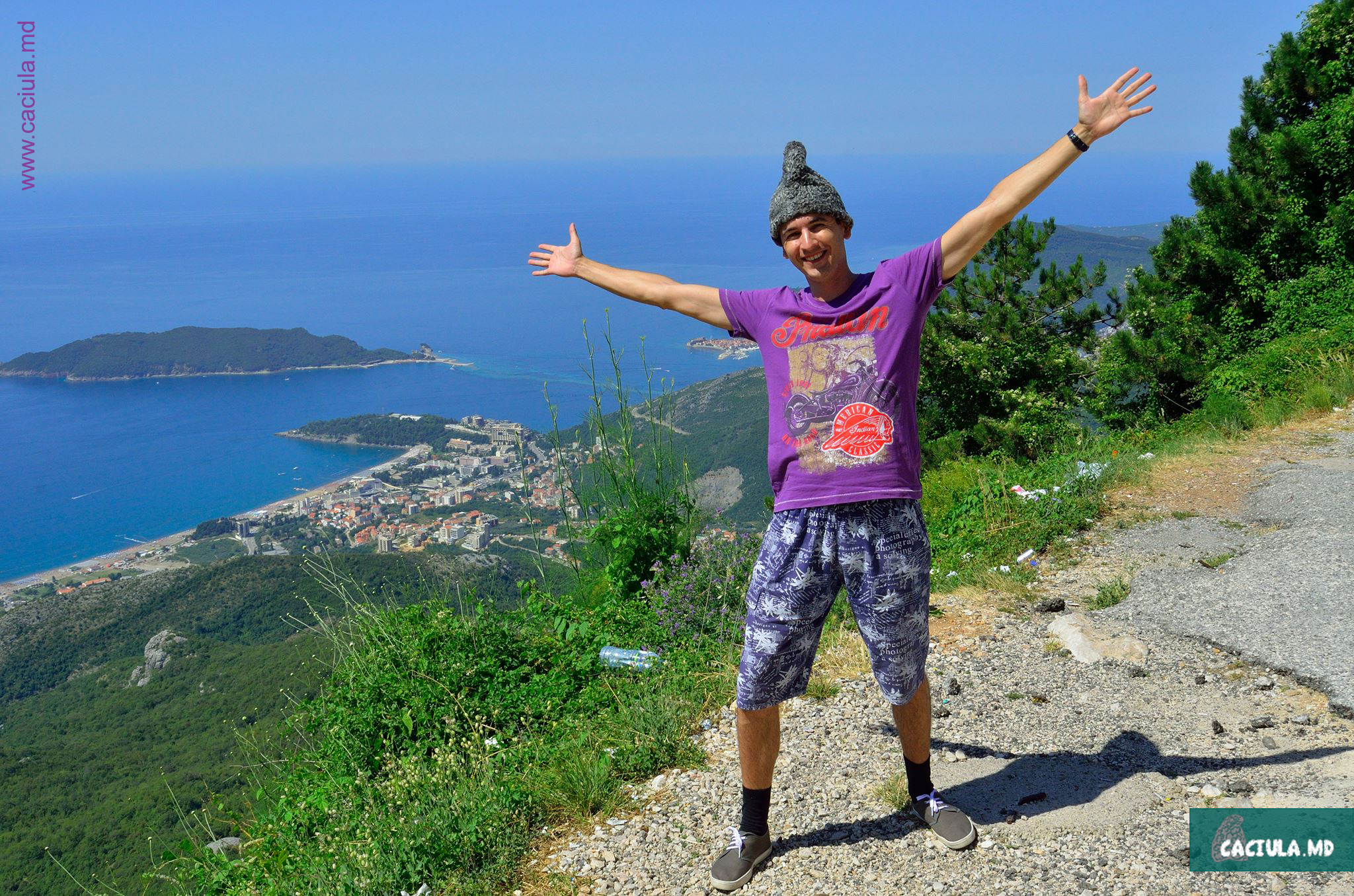 красота Ховатии и Черногории, побережье