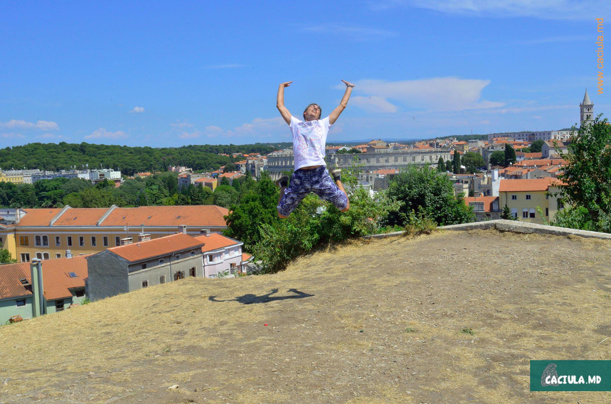 иога caciula в Хорватии