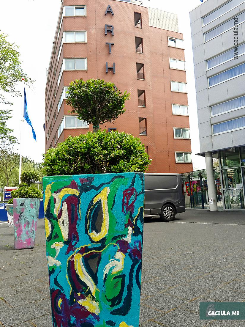 внешнее оформление отеля westcord hotel amsterdam