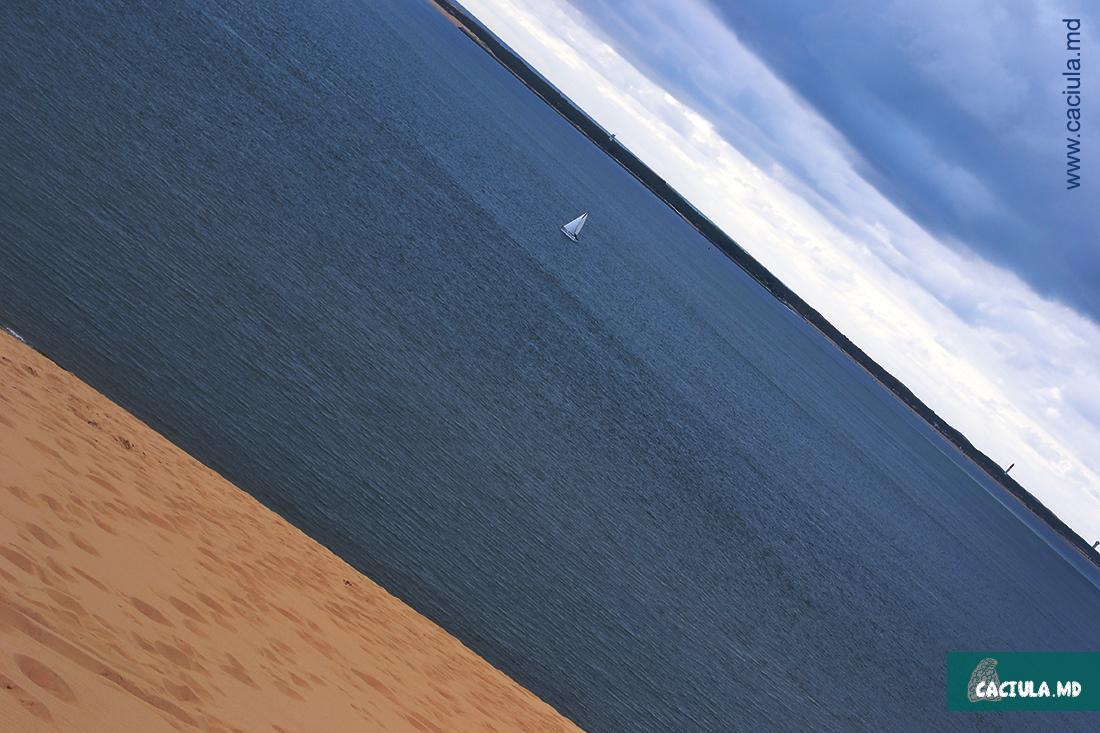 песок, море, дюны, Франция