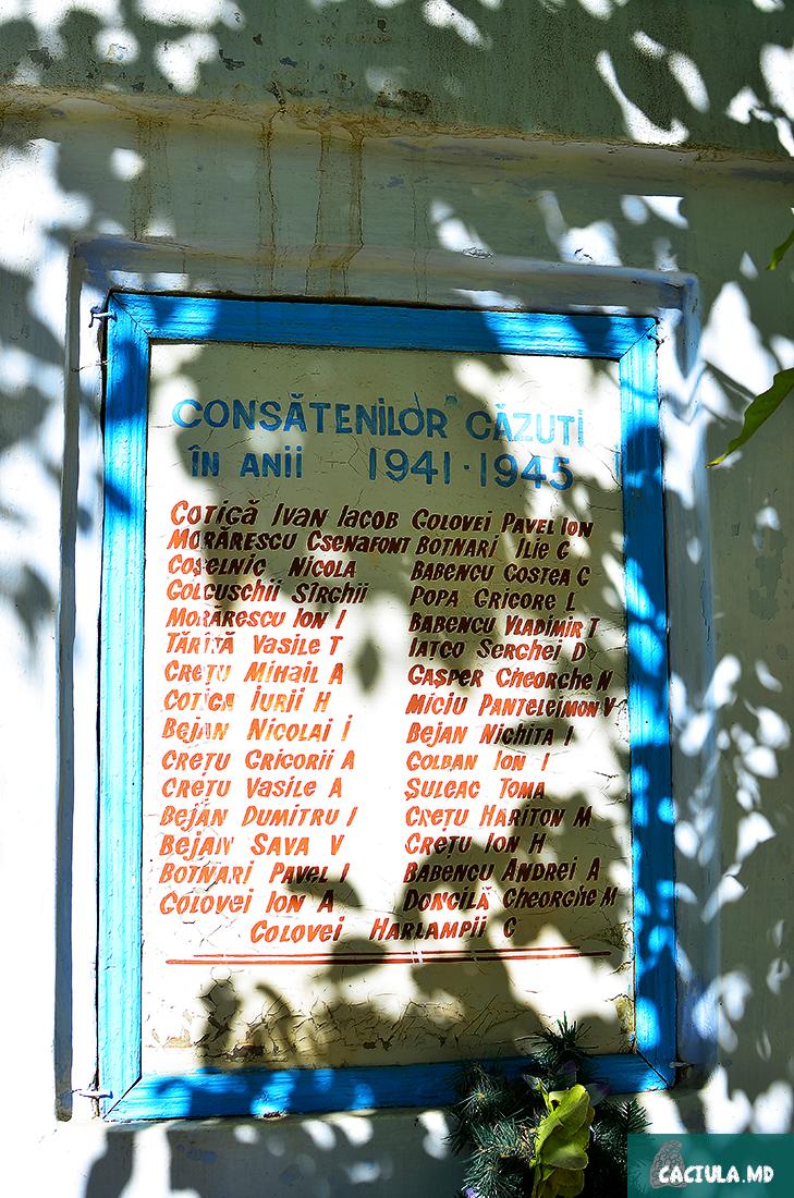 надписи на стенах домов в Требуженах