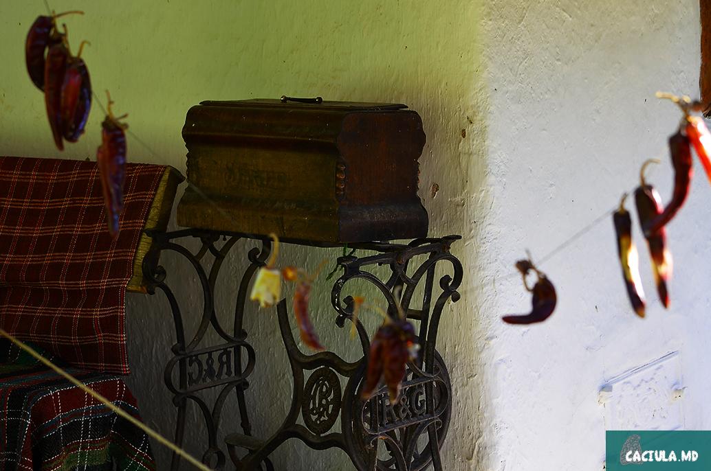 сундук в доме в Требуженах