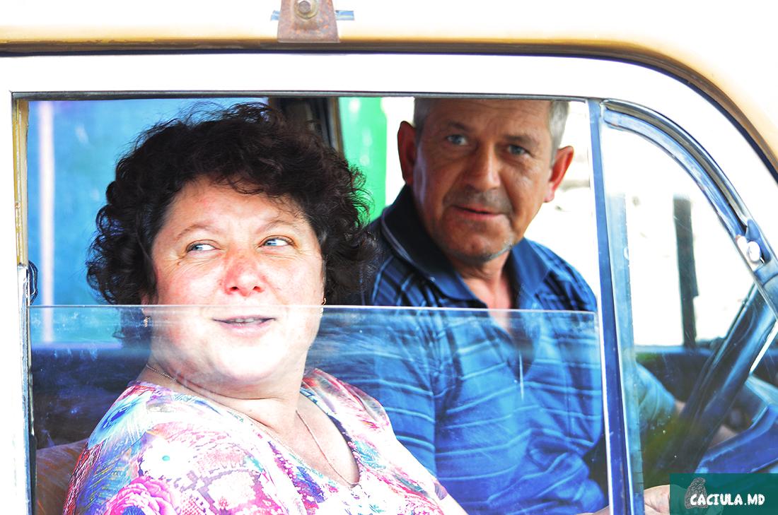 местные жители в Москвиче, село Требужены Молдавия