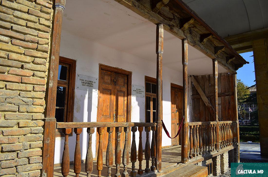Мемориальный домик, где Сталин родился
