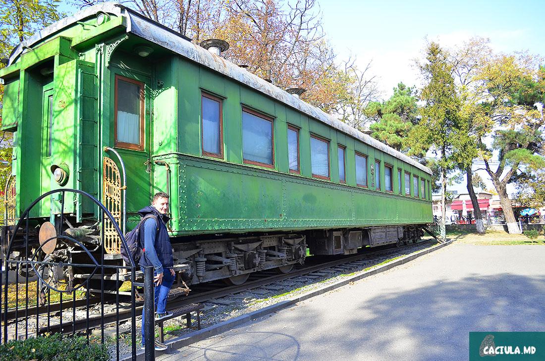 Салон-вагон И.В. Сталина в Гори