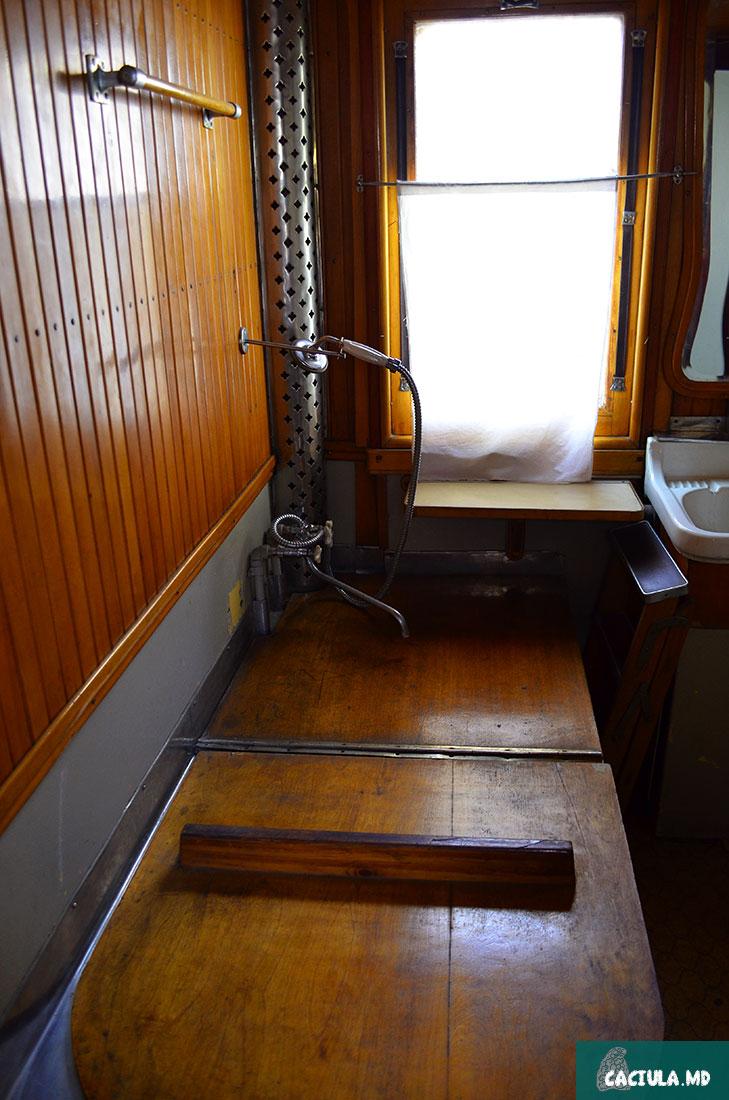 сталинские харомы в вагоне, ванна сталина