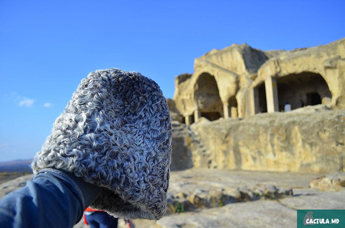 древний пещерный город на территории Грузии