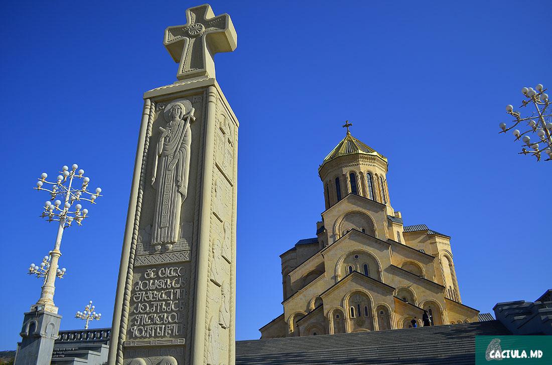 Арчила Миндиашвили построил этот собор в честь 2000 летия христианства
