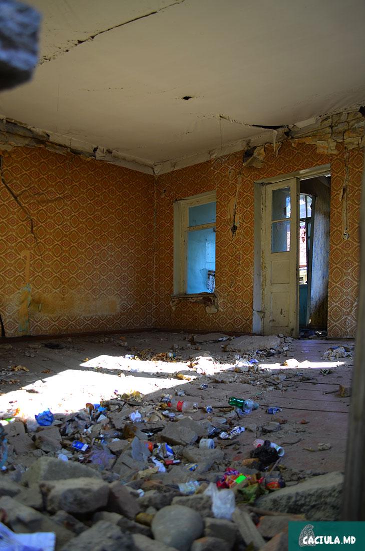 покинутые дома Тбилиси 2016 год