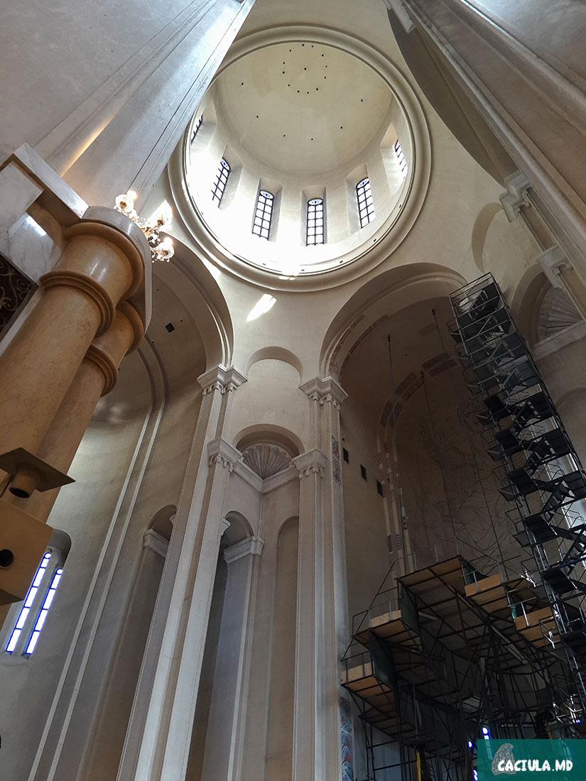 купол пресвятой троицы, Цминда Самеба 2016