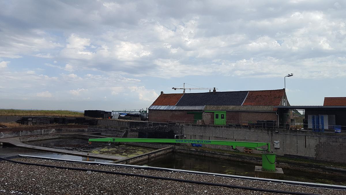 Устричная ферма в Ерсеке, Голландия