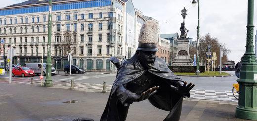 Брюссель: Нижний город, Базилика Сакре-Кёр и другое